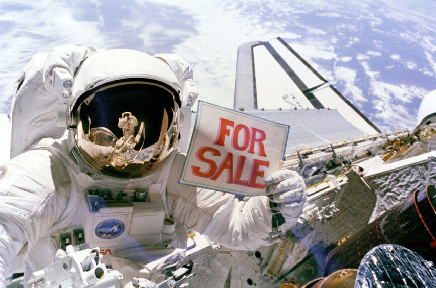 Want to buy a satellite?